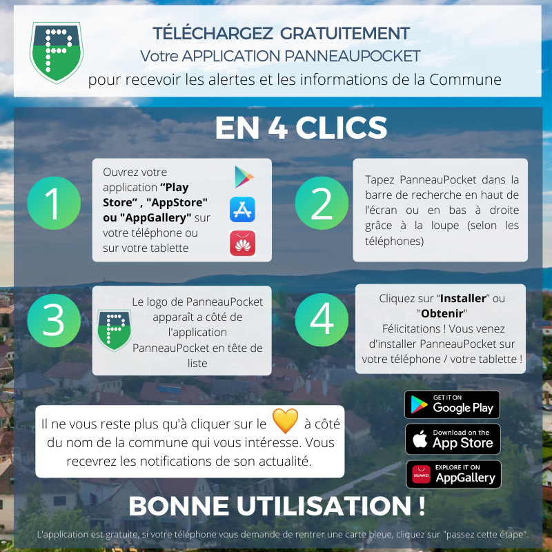 guide telechargement panneaupocket