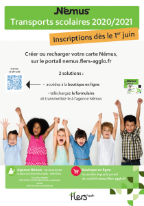 TRANSPORTS SCOLAIRES 2020/2021